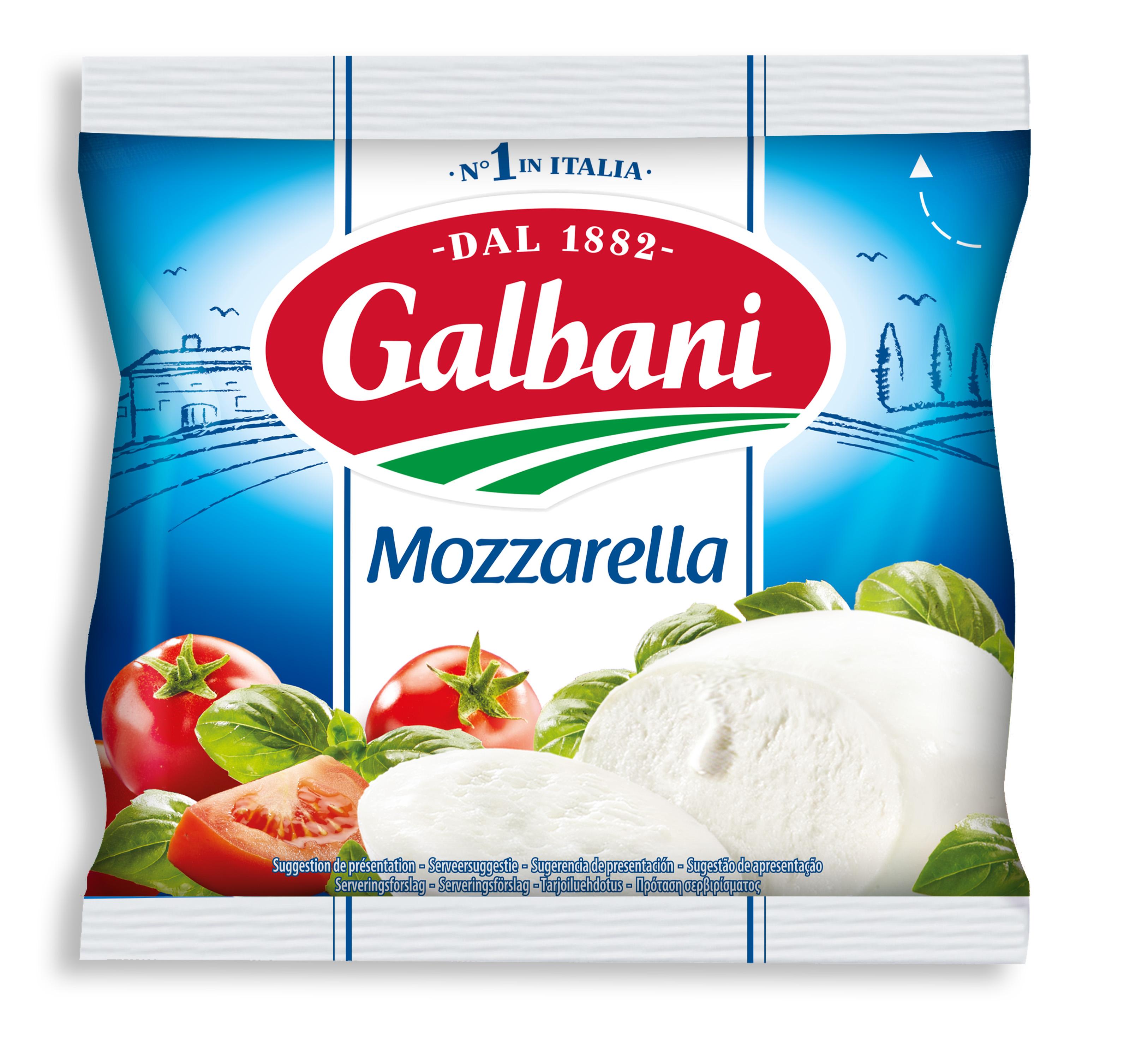 Galbani Mozzarella 125 g - Galbani