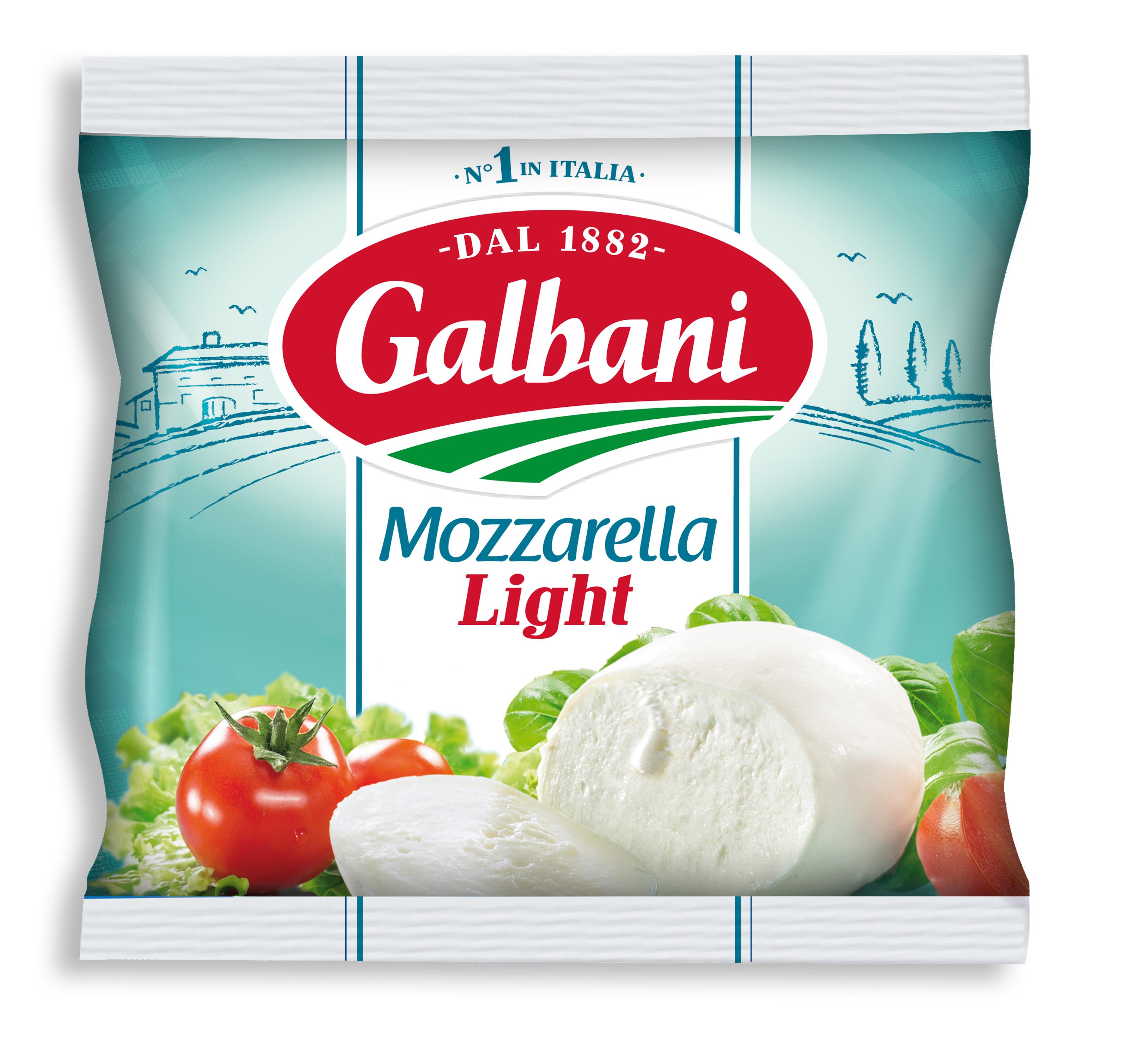 Galbani Mozzarella Light 125g - Galbani