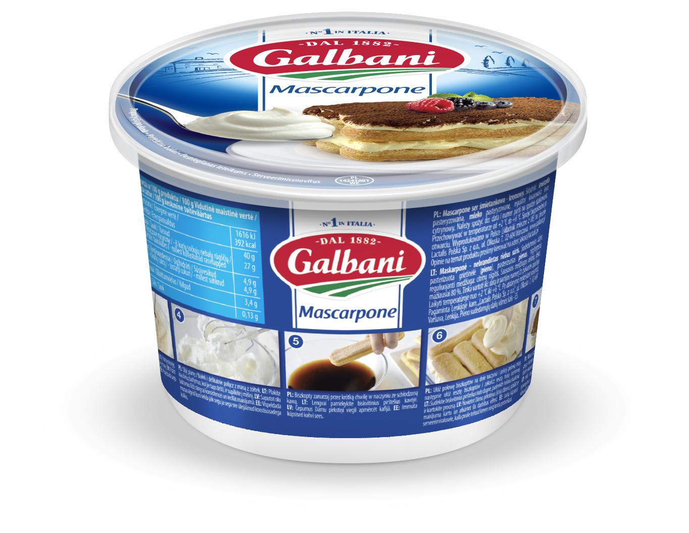 Mascarpone Galbani 500g - Galbani