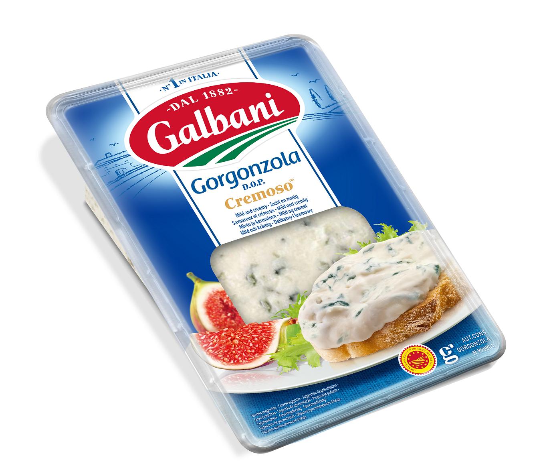 Galbani Gorgonzola Cremoso D.O.P 150g - Galbani – od ponad 130 lat dostarczamy najlepsze włoskie smaki na talerze całego świata
