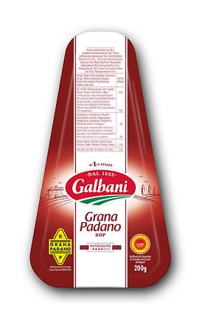 Galbani Grana Padano D.O.P. 200g - Galbani