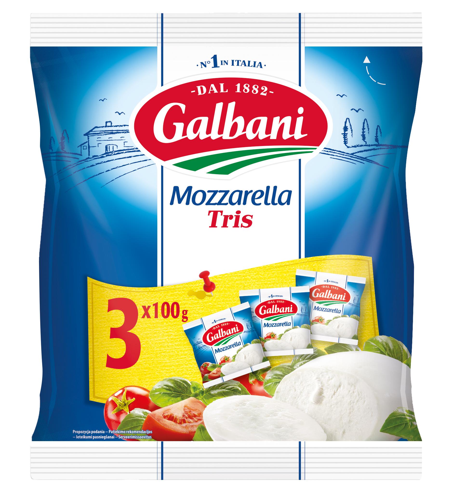 Galbani Mozzarella Tris 3x100g - Galbani