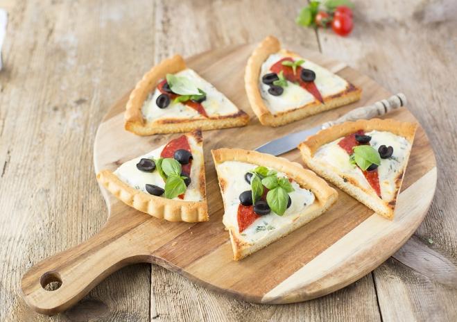 Pizza z mozzarellą, ricottą Galbani i pepperoni - Galbani