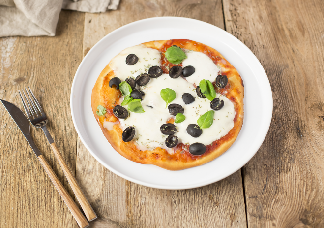 Tradycyjna pizza z mozzarellą Galbani - Galbani