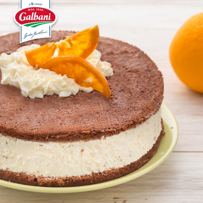 Ciasto czekoladowe z nadzieniem Mascarpone - Galbani