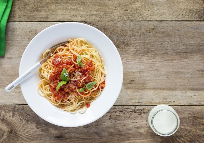 Spaghetti z sosem pomidorowym - Galbani – od ponad 130 lat dostarczamy najlepsze włoskie smaki na talerze całego świata