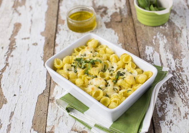 Super szybkie macaroni z pieca - Galbani
