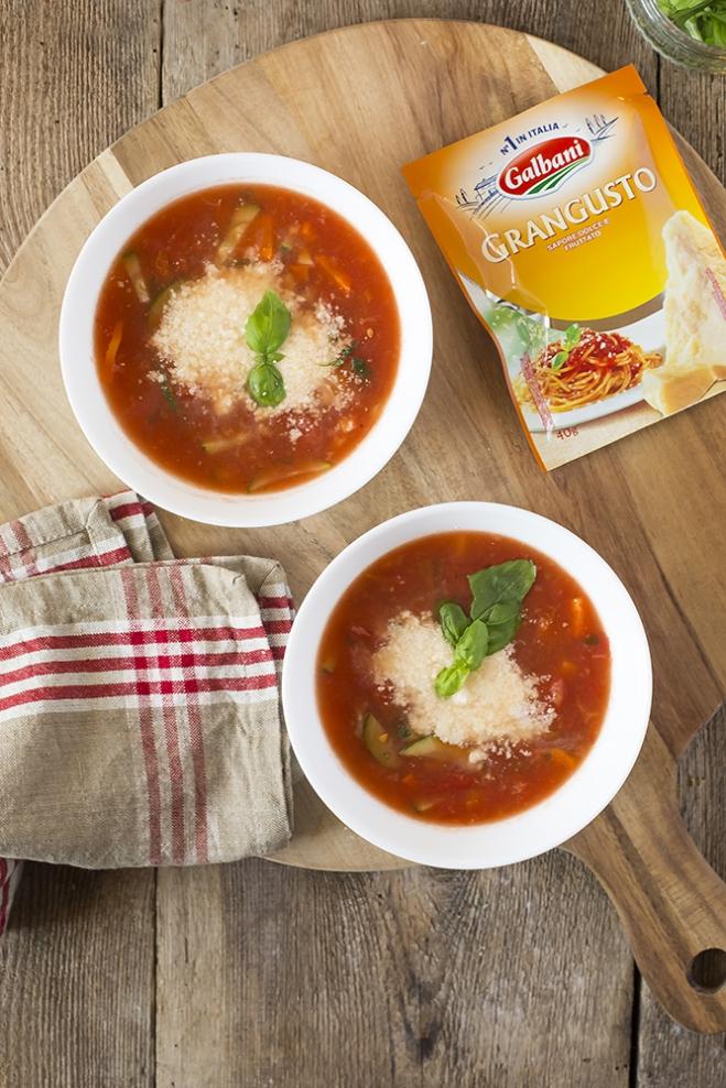 Minestrone – włoska zupa jarzynowa - Galbani