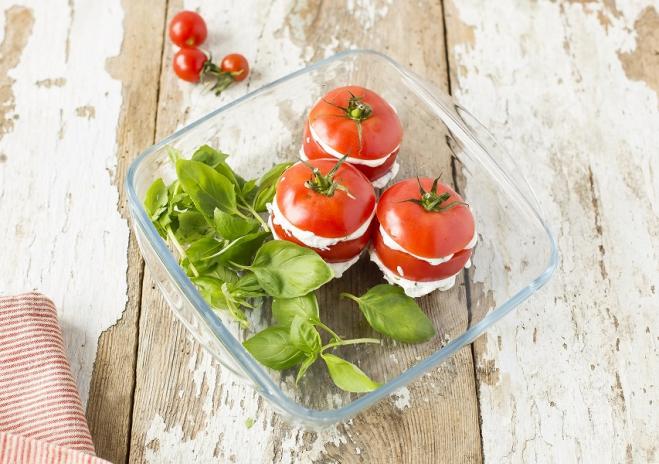 Letnie pomidory z ricottą Galbani - Galbani