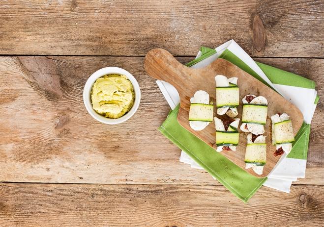 Przekąska z mozzarellą Galbani i guacamole - Galbani
