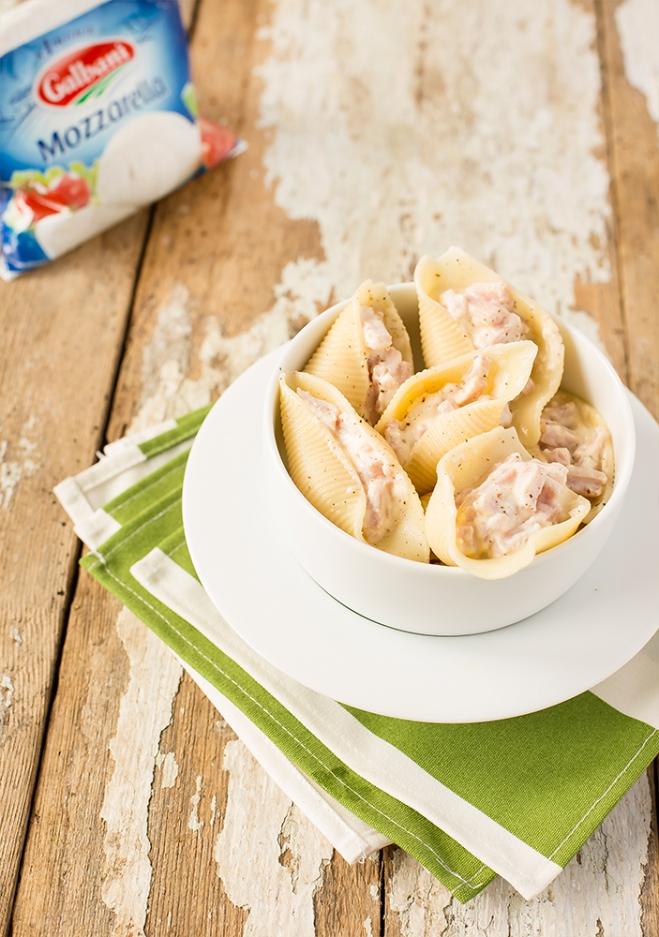 Muszle nadziewane ricottą Galbani i szynką - Galbani – od ponad 130 lat dostarczamy najlepsze włoskie smaki na talerze całego świata