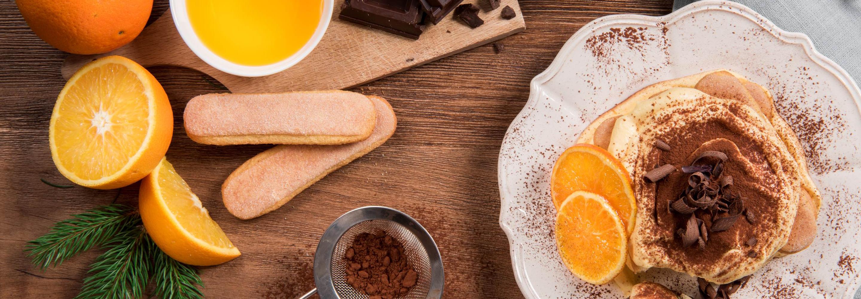Tiramisu z pomarańczą i czekoladą - Galbani