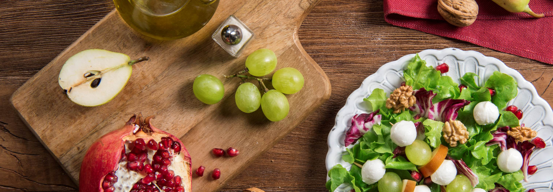 Zimowa sałatka z Mozzarellą Mini - Galbani