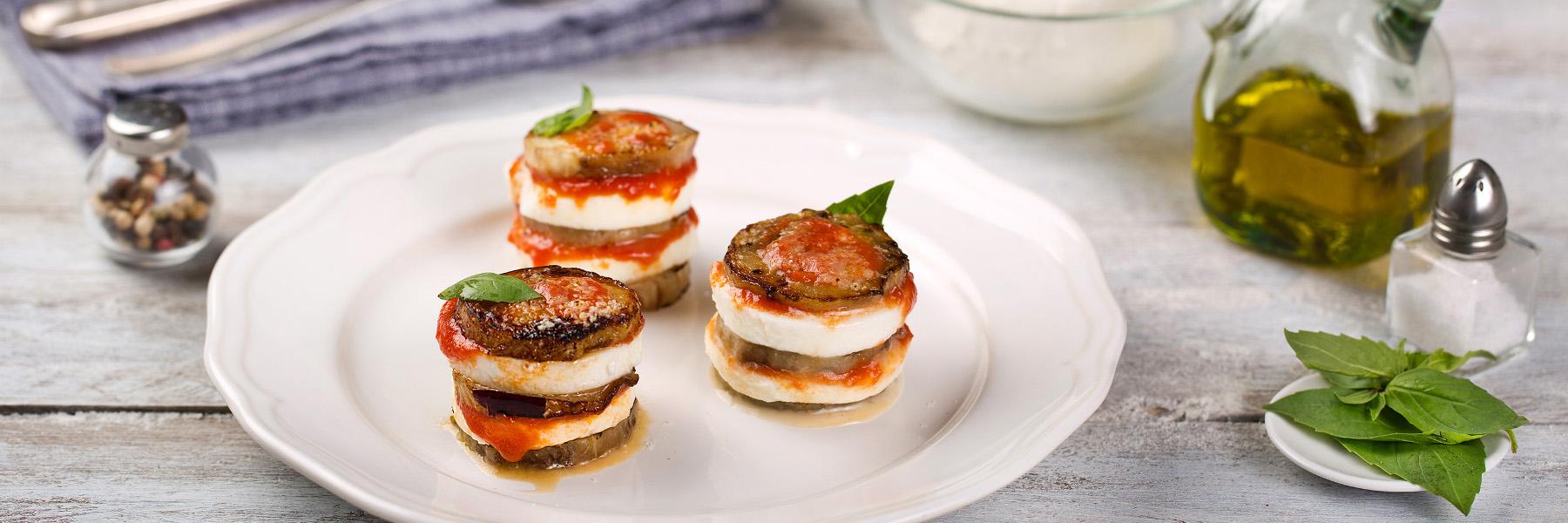 Parmigiana z bakłażana - Galbani – od ponad 130 lat dostarczamy najlepsze włoskie smaki na talerze całego świata