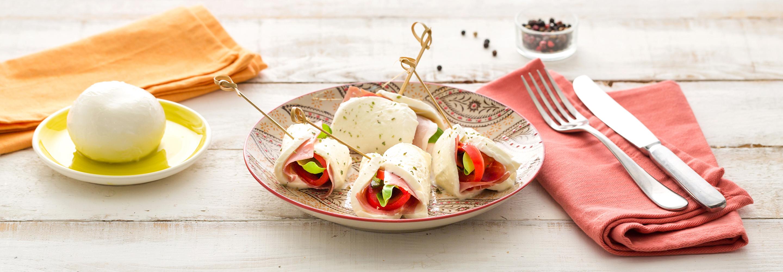Mozzarella nadziewana prosciutto - Galbani