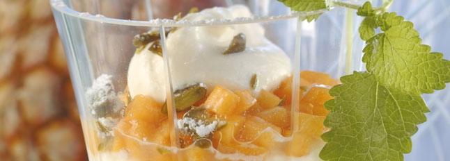 Krem mascarpone z owocami - Galbani