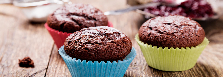 Czekoladowe muffiny z Ricottą - Galbani