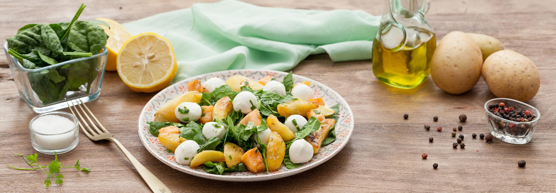 Sałatka ze szpinakiem baby - Galbani – od ponad 130 lat dostarczamy najlepsze włoskie smaki na talerze całego świata