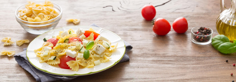 Sałatka z makaronem - Galbani – od ponad 130 lat dostarczamy najlepsze włoskie smaki na talerze całego świata