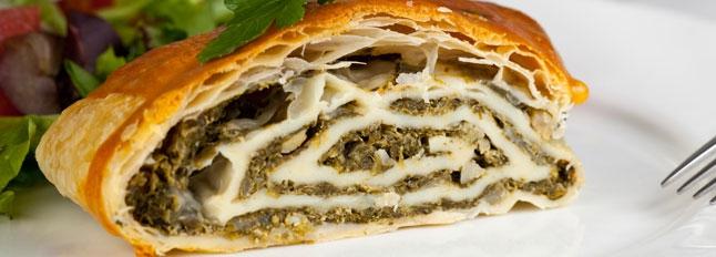 Strudel ze szpinakiem i gorgonzolą - Galbani