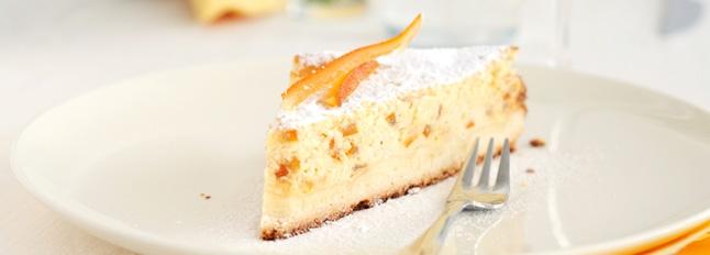 Ciasto z ricotty z rodzynkami - Galbani