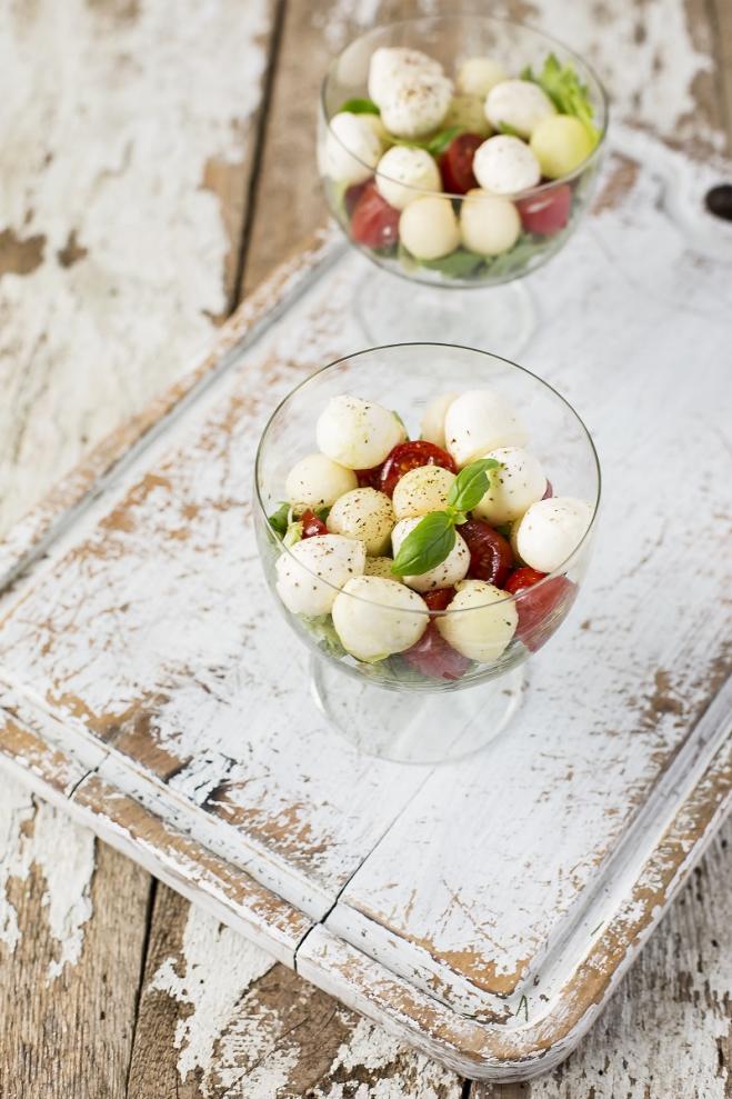 Puchary z sałaty - Galbani