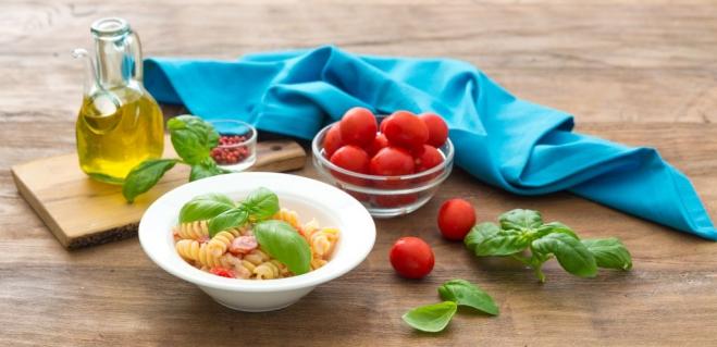 Makaron fusilli z Ricottą Galbani i pomidorami - Galbani