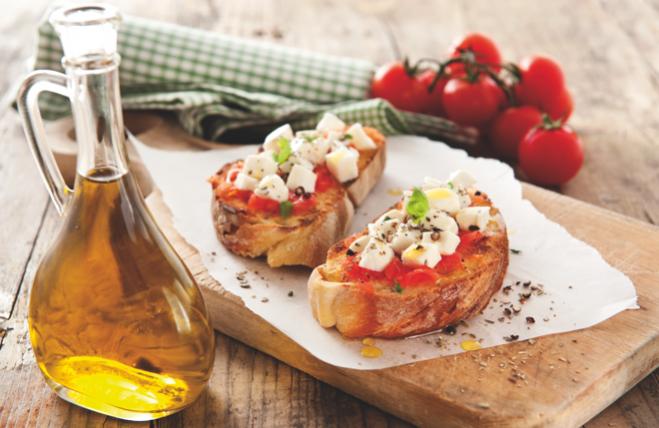 Bruschetta z mozzarellą - Galbani