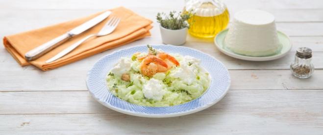 Risotto z Ricottą, szparagami i krewetkami - Galbani – od ponad 130 lat dostarczamy najlepsze włoskie smaki na talerze całego świata