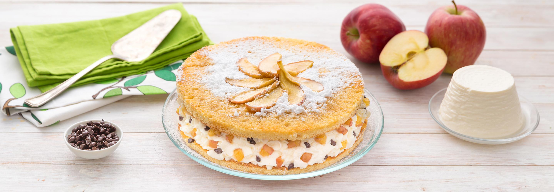 Ciasto z Ricottą i jabłkami - Galbani