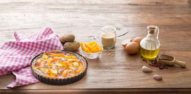 Ciasto ziemniaczane z papryką - Galbani