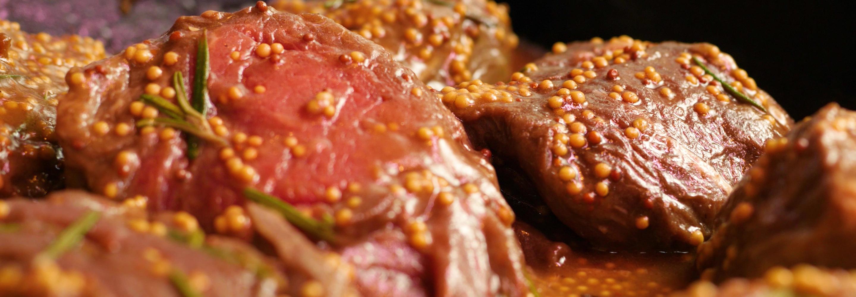 Filet wołowy z mascarpone i musztardą - Galbani