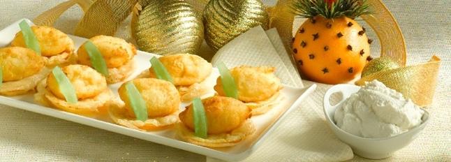 Racuszki z ricotty ze smażoną pomarańczą - Galbani