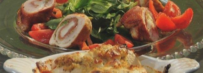 Roladki z kurczaka nadziewane mozzarellą i chrupiącymi warzywami - Galbani