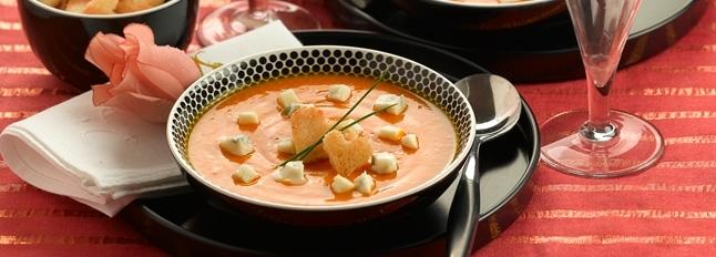 Zupa krem z dyni i Gorgonzoli - Galbani
