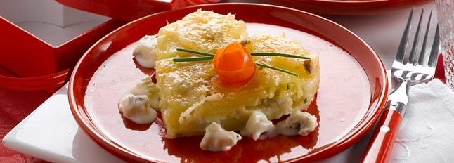 Zapiekanka ziemniaczana z gorgonzolą - Galbani