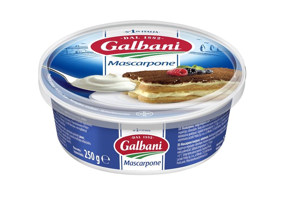 Mascarpone Galbani 250 g - Galbani – od ponad 130 lat dostarczamy najlepsze włoskie smaki na talerze całego świata