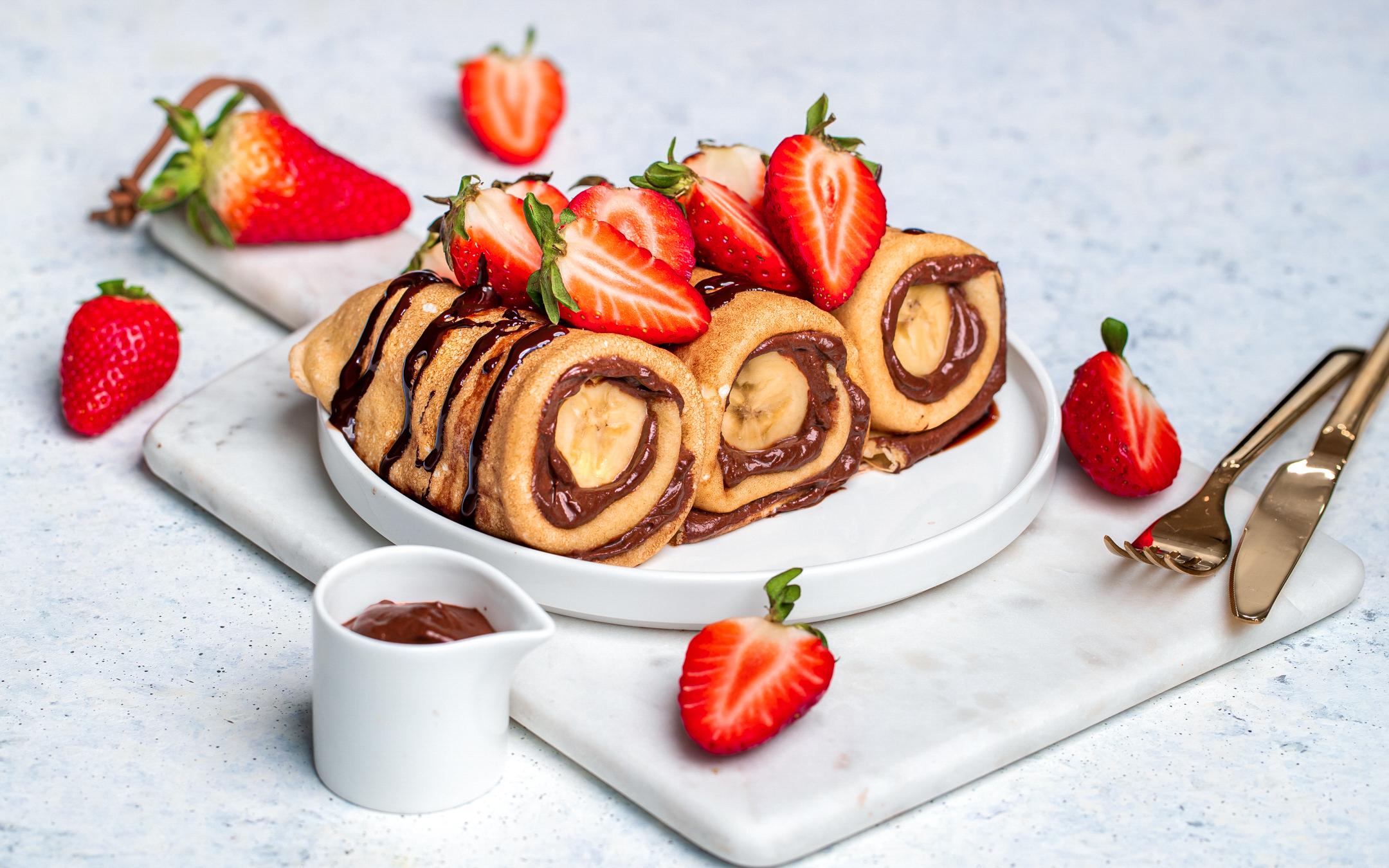 Naleśniki z kremem kokosowo-czekoladowym banoffee z bananami i mascarpone - Galbani – od ponad 130 lat dostarczamy najlepsze włoskie smaki na talerze całego świata